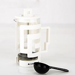 350 ml Plastic Glass Γαλλικός Τύπος , 3 φλιτζάνια ετοιμάζω καφέ Κατασκευαστής Επαναχρησιμοποιήσιμο
