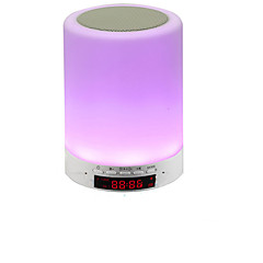 블루투스 스피커 램프 스마트 터치 무 전극 램프 디밍 일곱 개 조명