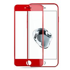 almás iphone7 plusz 3d piros edzett üveg kijelző acél robbanásbiztos membrán ellen ujjlenyomatok