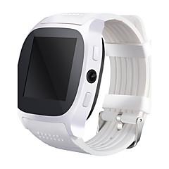smartwatch t8 klok met SIM-kaart slot 2,0 mp camera push-bericht van een Bluetooth-verbinding android telefoon smartwatch t8