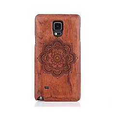 Na Wzór Kılıf Etui na tył Kılıf Mandala Twarde Drewno na Samsung Note 5 Note 4