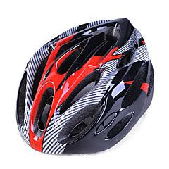 유니섹스 자전거 헬멧 n / a 통풍구 자전거 타기 / 산악 자전거 타기 / 도로 자전거 타기 / 레크리에이션 자전거 타기 eps + epu pink