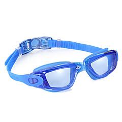 Úszás Goggles Páramentesítő Vízálló Állítható méret Szilícium-dioxid gél PC Fekete Kék Világosszürke Világoskék