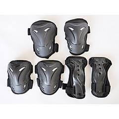 Unisex Polvituki varten Skeittaus Helppo pukeutuminen Kevenee kipu Kulutuksen kestävä Thickening 1 setti Urheilu