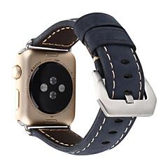 Banda de relogios para Apple Watch série 1 2 38mm Banda de substituição de couro de fivela clássica de 42mm