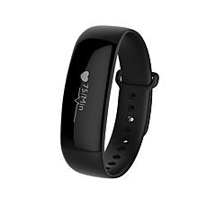Yym88 mænds kvinde smart armbånd / smarwatch / puls monitor sm wristband sove monitor farve skærm til ios android telefon