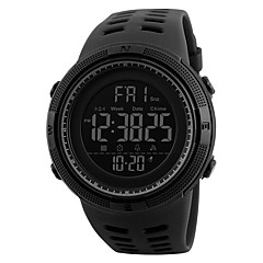 SKMEI Herre Sportsur Militærur Modeur Armbåndsur Digital Watch Japansk DigitalLED Kalender Kronograf Vandafvisende Dobbelte Tidszoner