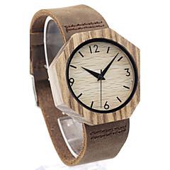 Αντρικά Μοδάτο Ρολόι Ρολόι Καρπού Μοναδικό Creative ρολόι Καθημερινό Ρολόι Ρολόι Ξύλο Ιαπωνικά Χαλαζίας Γιαπωνέζικο Quartz ξύλινοςΓνήσιο