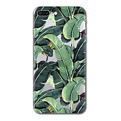Na iPhone X iPhone 8 Etui Pokrowce Przezroczyste Wzór Etui na tył Kılıf Drzewo Miękkie Poliuretan termoplastyczny na Apple iPhone X