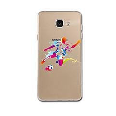 Samsung Galaxy a7 (2017) S5 burkolata minta hátlapot esetben rajzfilm színátmenet puha TPU Samsung Galaxy a7 a5 (2017) s6 s7 s6edge s7edge