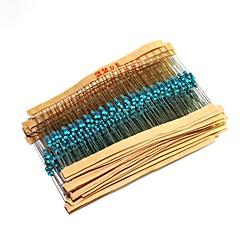 Arduino için 500pcs yaygın direnci kullanılan 220R 470R 1k 4.7K 10k direnci paketi