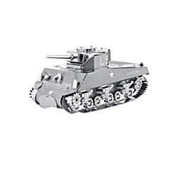 بانوراما الألغاز قطع تركيب3D اللبنات DIY اللعب دبابة الفولاذ المقاوم للصدأ
