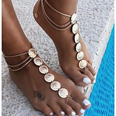 Pentru femei Bijuterii de corp Lănțișor Picior Vintage costum de bijuterii Aliaj Round Shape Bijuterii Pentru Casual