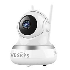 Veskys® 2.0mp 1080p hd wifi biztonsági felügyelet ip kamera felhő tárolás kétirányú távoli hang távvezérlés