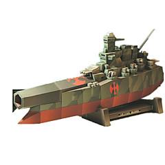 DHZ-kit 3D-puzzels Legpuzzel Speeltjes Vierkant Oorlogsschip Schip 3D DHZ Simulatie Niet gespecificeerd Stuks