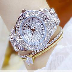 Kadın's Elbise Saat Moda Saat Bilek Saati Bilezik Saat Benzersiz Yaratıcı İzle Gündelik Saatler Sahte Elmas Saat Kol Saatleri Çince Quartz