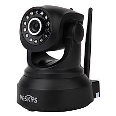 veskys® 720p hd wi-fi ip kamera w / 1.0mp intelligens telefon távfelügyelet vezeték nélküli támogatás 64GB TF kártya