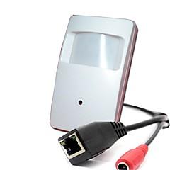 720p onvif 1.0mp 25fps biztonsági beltéri ip kamera cctv mini pir stílus 3.7mm objektív megfigyelés 1/4 h62 cmos