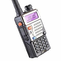 5w 128ch tovejs radio walkie talkie baofeng uv-5re til jagt dual display fm vox uhf vhf radiostation cb radio