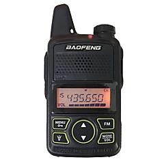 Baofeng bf t1 mini walkie talkie ultra vékony mikro vezetés 400-470mhz baofeng hotel polgári walkie-talkie 20 csatorna