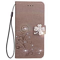 Hoesje voor Sony Xperia XZ L1 hoesje voor de behuizing van de behuizing van de portefeuillehouder met statief flip reliëf volledige