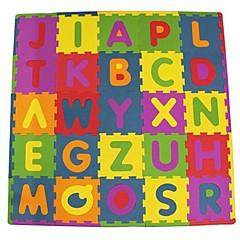 Legpuzzels Logica & Puzzelspeelgoed Bouw blokken DHZ-speelgoed Vierkant Letter EVA Schuimrubber