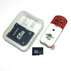 8gb microsdhc tf κάρτα μνήμης με αναγνώστη καρτών usb και προσαρμογέα sdhc sd