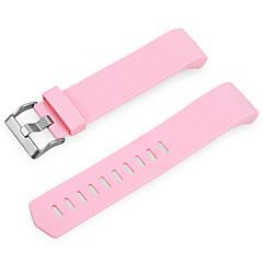 Fitit şarjı için yedek elastomer bilekliği 2 -pink