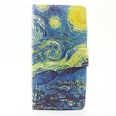 Geval voor wiko lenny 3 lenny 2 case cover de sterrenhemel patroon pu lederen gevallen voor wiko zonsondergang 2