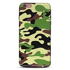 Käyttötarkoitus iPhone 7 iPhone 7 Plus kotelot kuoret Ultraohut Kuvio Takakuori Etui Armeijatyyli Pehmeä TPU varten Apple iPhone 7 Plus