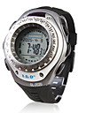 TV VCR DVD Remote Control Waterproof Automatic Wrist Watch with Alarm & EL Light