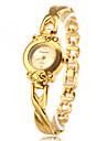 Mulheres Relogio de Moda Bracele Relogio Quartzo Lega Banda Elegantes Dourada Dourado