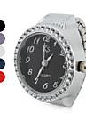 Женские Модные часы Японский кварц Кварцевый Группа Блестящие Серебристый металл