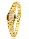 Mulheres Relógio de Moda Bracele Relógio Quartzo Banda Vintage Elegantes Dourada Dourado