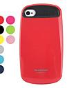capa de silicone elegante difícil para iphone 4 e 4S (cores sortidas)