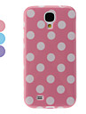 Wave Point Pattern TPU Protective Case for Samsung Galaxy S4 I9500 (Assorted Colors)