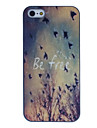 Wild Geese cor desenho padrão black frame caso difícil pc gratuito para iPhone 5/5s