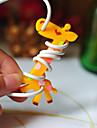 enchedor de bobina borracha girafa (cor aleatoria)