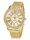 Women\'s Watch Fashion Diamante Golden Strap Watch Band Dress Wrist Watch Cool Watches Unique Watches