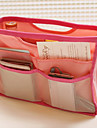 SecretBag πολλαπλών λειτουργιών αποθήκευσης Πακέτο τσάντα / καλλυντικά τσάντα / Συσκευασία αποθήκευσης (Random Color)