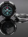Amant personnalise grave Compass cadeau en forme de porte-clefs