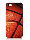 Образчиком Баскетбол Прозрачный кадр Вернуться чехол для iPhone 5/5S