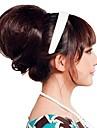 женщина мода шиньон свадьбы невеста булочка синтетические парики волос термостойкие волокна наращивание волос дешево косплей партия