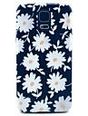 Pour Samsung Galaxy Coque Motif Coque Coque Arrière Coque Fleur Polycarbonate pour Samsung S5