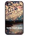 personnalise cas de telephone - la romance cas design en metal pour iPhone 4 / 4S