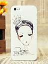 Beautiful Sketch the Crown the Queen Pattern Hard Cover Case for iPhone 5/5S