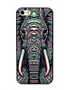 Pour iPhone 8 iPhone 8 Plus iPhone 7 iPhone 7 Plus iPhone 6 iPhone 6 Plus Coque iPhone 5 Etuis coque Motif Coque Arriere Coque Elephant