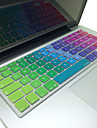 """coosbo® sueco pele da tampa do teclado de silicone colorido disposicao da UE para 13 """"/ 15"""" / 17 """"ar macbook pro / retina / g6 imac"""