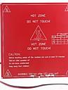 impressora 3D RepRap com placa de circuito dual-tensao e mk2b cama aquecida, apoio 12v, 24v