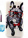 motif petit chien TPU étui souple pour Samsung Galaxy a5